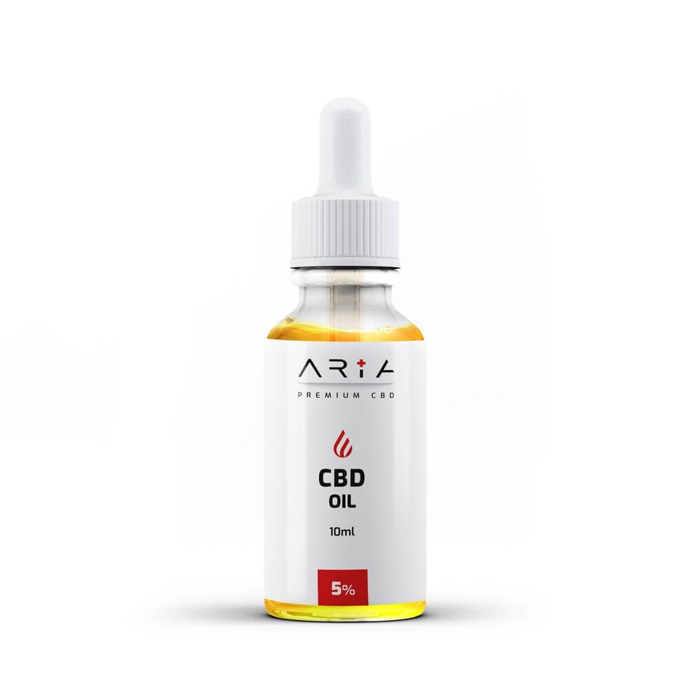 Aria CBD - 5% Premium CBD Oil (10ml)