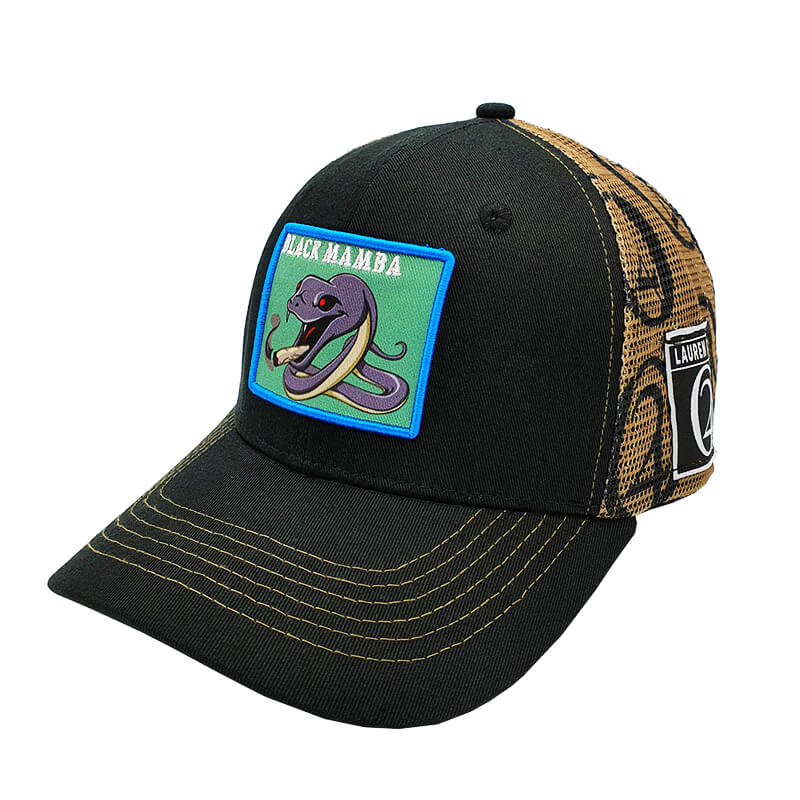 Lauren Rose - Black Mamba + built-in stash 420 Hat
