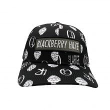 Lauren Rose - Blackberry Haze Black + built-in stash 420 Hat