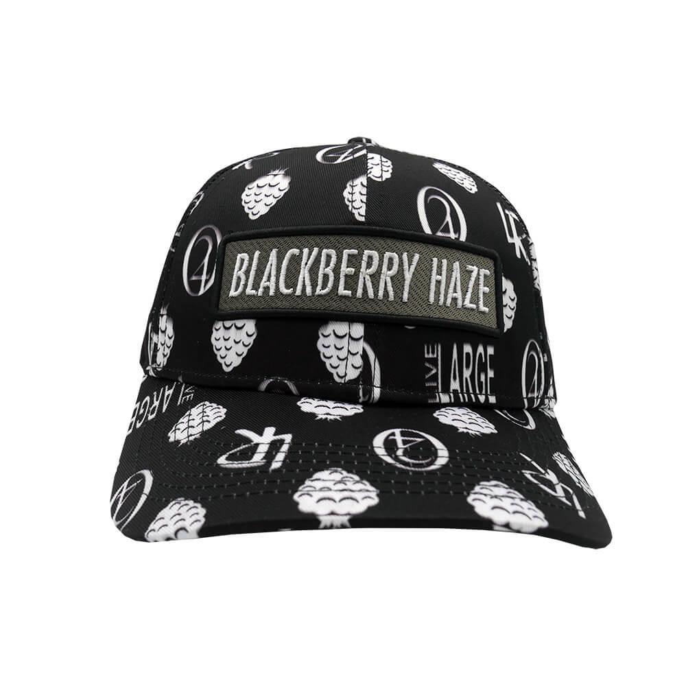 Lauren Rose - Blackberry Haze Black + built-in stash 420 Hat