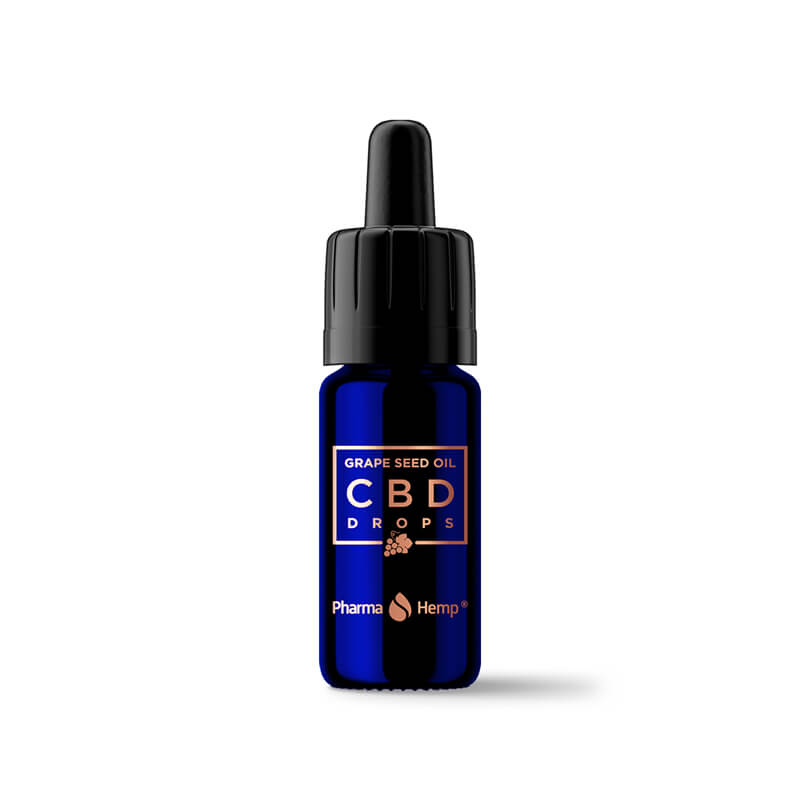 Pharma Hemp Grape Seeds 15% CBD Oil with Gift Box (10ml)