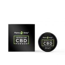 Pharma Hemp Full Spectrum 99.6% CBD Crystalline Powder (0.5g)