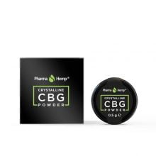 Pharma Hemp Full Spectrum 97.5% CBG Crystalline Powder (0.5g)