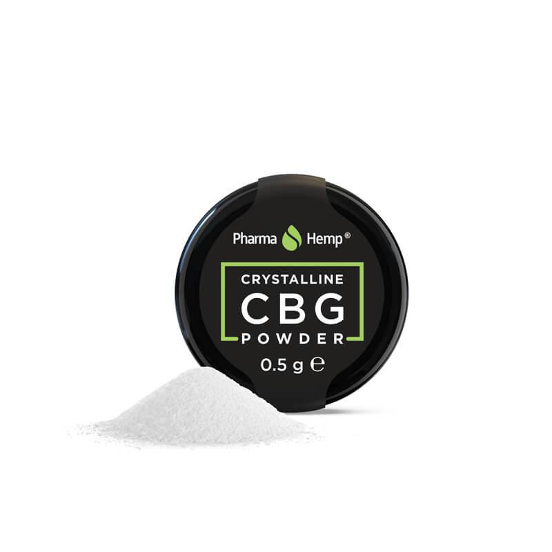 Pharma Hemp Full Spectrum 97.5% CBG Crystalline Powder (0.5g)