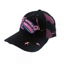 Lauren Rose - Double Bubblegum + built-in stash 420 Hat