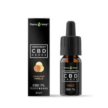 Pharma Hemp Aromatherapy Vanilla Cinnamon CBD Drops 7% (10ml)