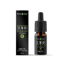 Pharma Hemp CBD Drops 7% Enriched with Vitamin E (10ml)