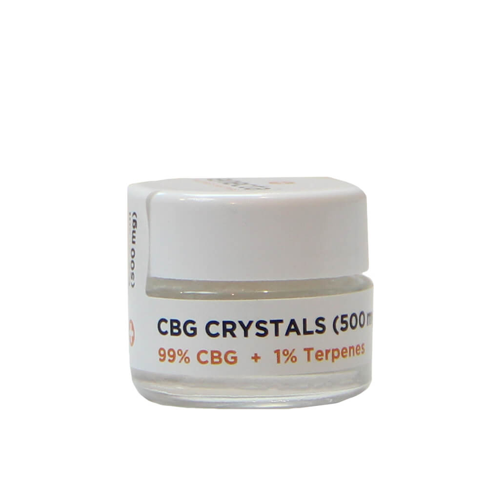 Enecta GC500 99% CBG Crystals + 1% Terpenes  (500mg)