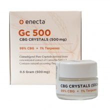 Enecta GC500 99% CBG Crystals + 1% Terpenes  (500mg)