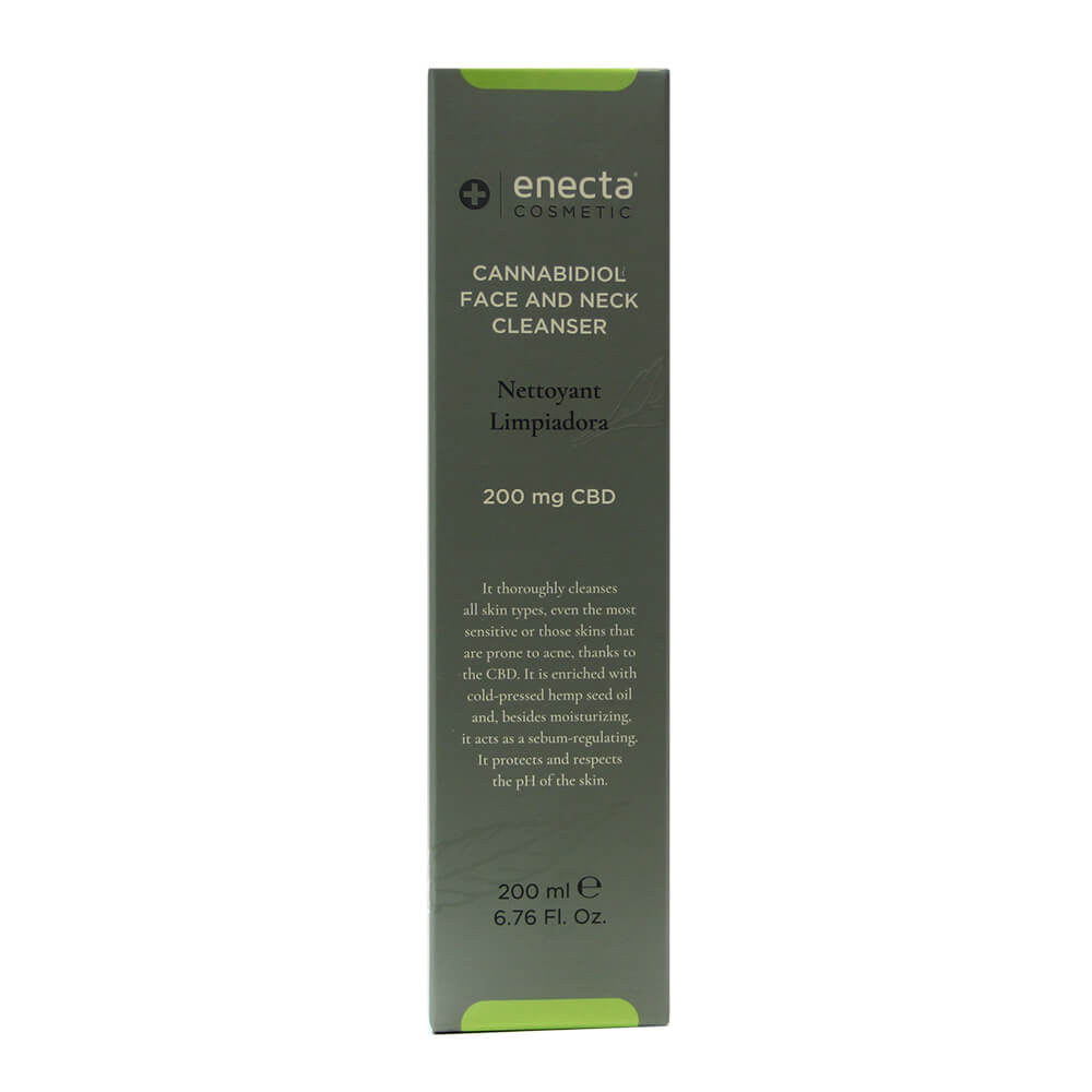 Enecta 200mg CBD Face and Neck Cleanser (200ml)