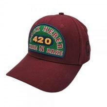 Lauren Rose - Jack Herer Wake n Bake + built-in stash 420 Hat