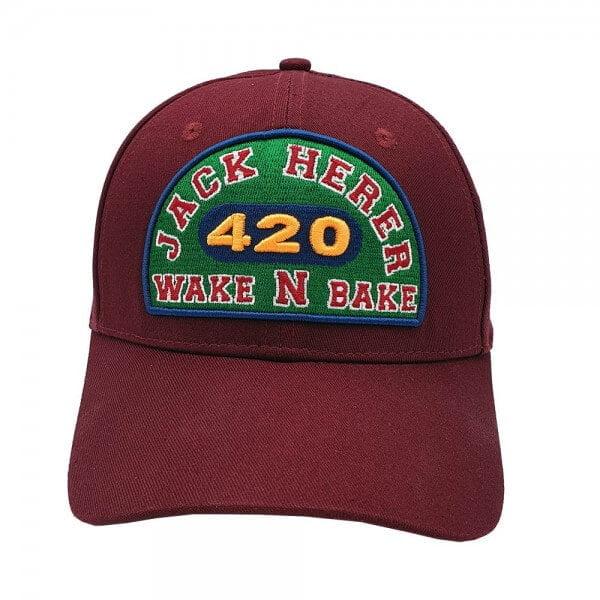 Lauren Rose - Jack Herer Wake n Bake + built-in stash 420 Hat