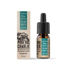 Pharma Hemp Poor Dog Charlie 2% CBD Drops for Dogs - Bacon Taste (10ml)