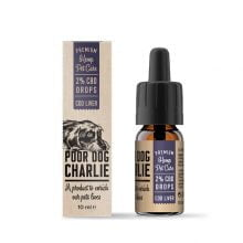 Pharma Hemp Poor Dog Charlie 2% CBD Drops for Dogs - Cod Liver Taste (10ml)