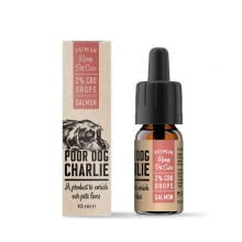 Pharma Hemp Poor Dog Charlie 2% CBD Drops for Dogs - Salmon Taste (10ml)