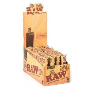 RAW slim cones (32packs/display) 3pcs per pack