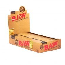 RAW 1/4 slim cigarette rolling papers (25pcs/display)
