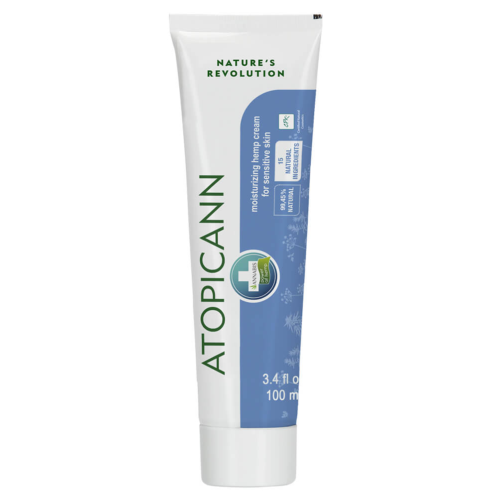 Annabis Atopicann Mosturizing Hemp Cream Sensitive Skin 100ml