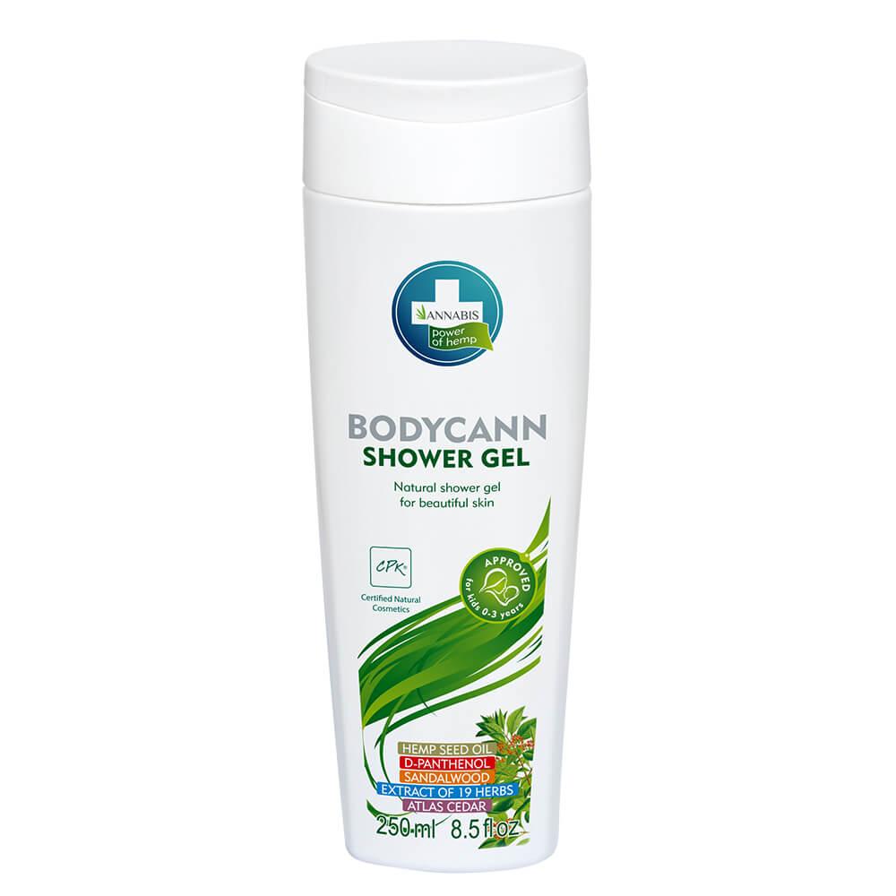 Annabis Bodycann Natural Shower Gel 250ml