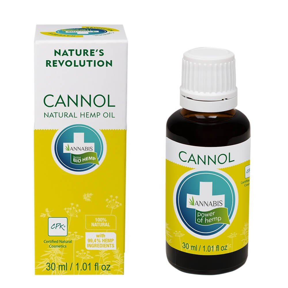 Annabis Cannol Natural Hemp Oil 30ml