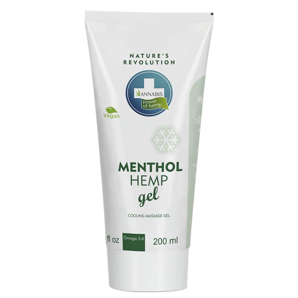 Annabis Menthol Hemp Cooling Massage Gel 200ml