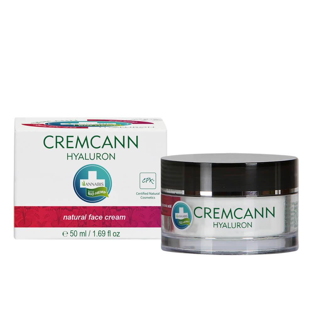 Annabis Cremcann Hyaluron Natural Hemp Face Cream 15ml