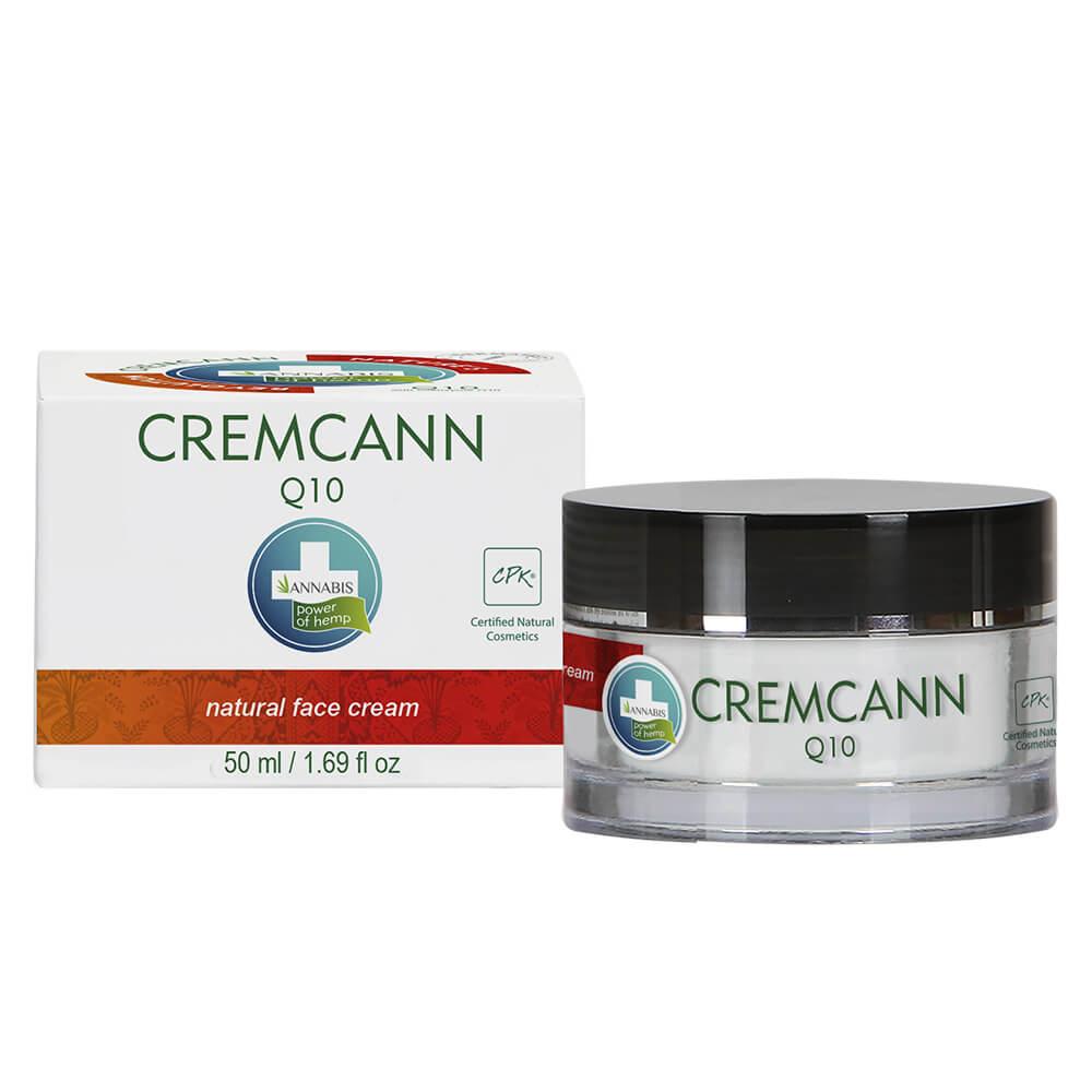 Annabis Cremcann Q10 Natural Hemp Face Cream 50ml