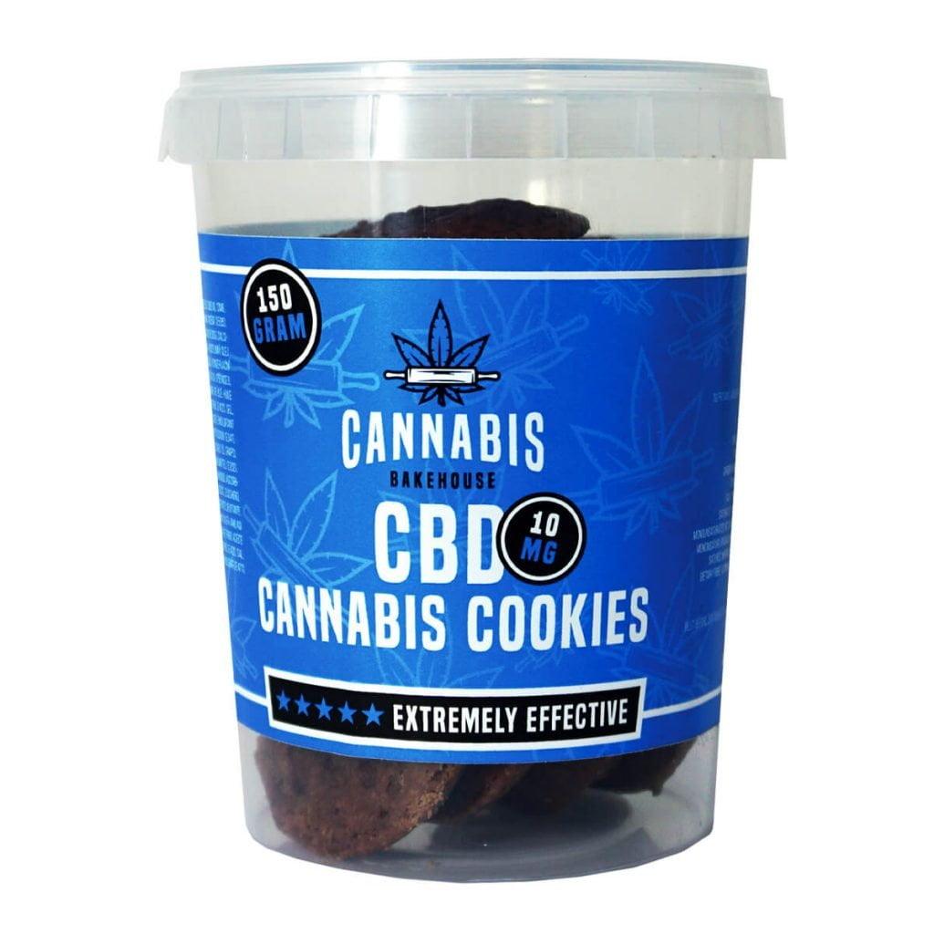 Cannabis Bakehouse CBD Cookies 10mg (150g)