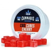 Cannabis Bakehouse CBD Cubes Cherry 5mg