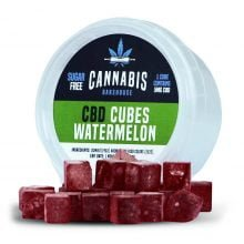 Cannabis Bakehouse CBD Cubes Watermelon 5mg