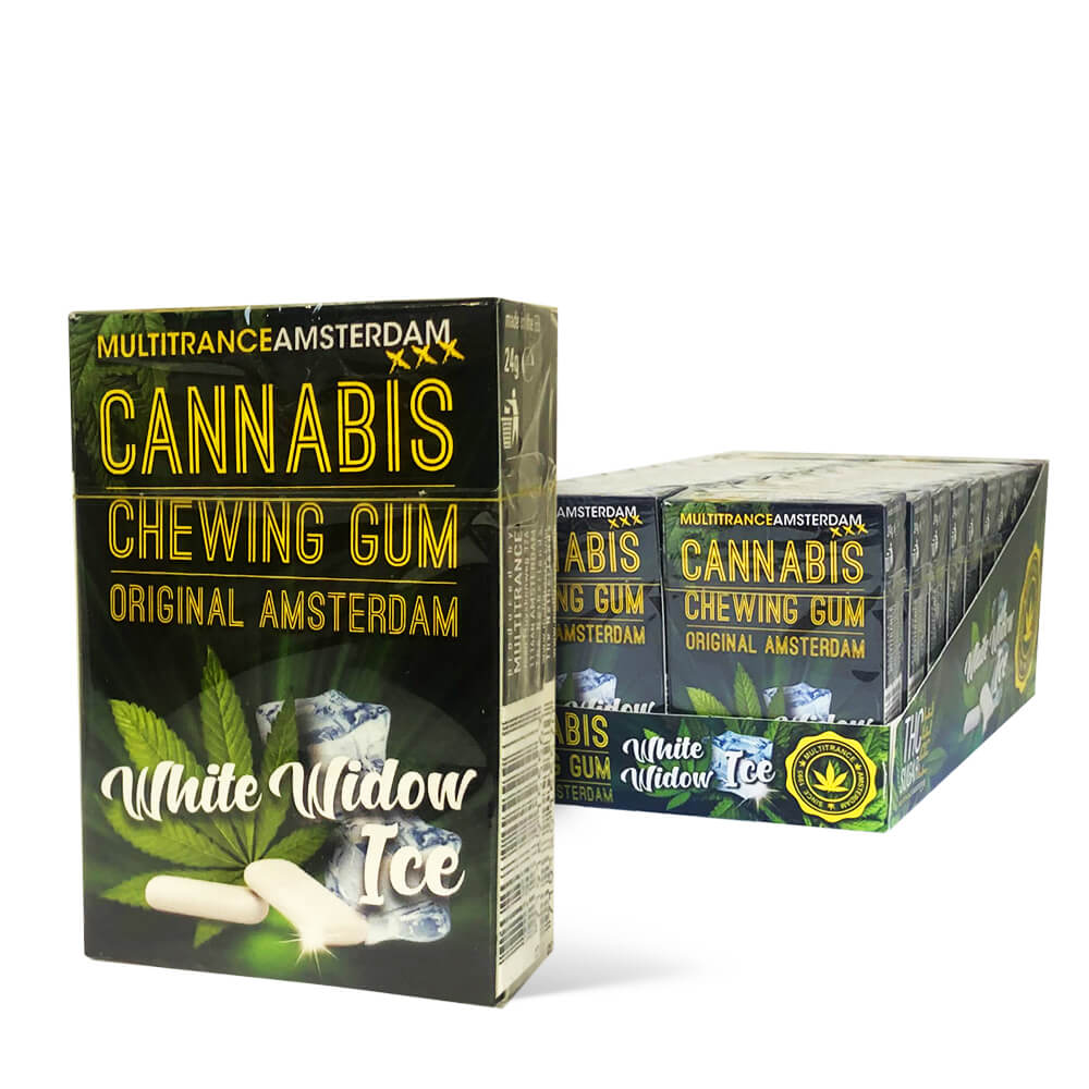 White Widow Cannabis Chewing gums (20packs/display)