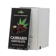 Cannabis dark hempseeds chocolate THC free (15pcs/display)