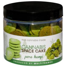 Cannabis Space Cookies Pure Hemp THC free (24jars/masterbox)