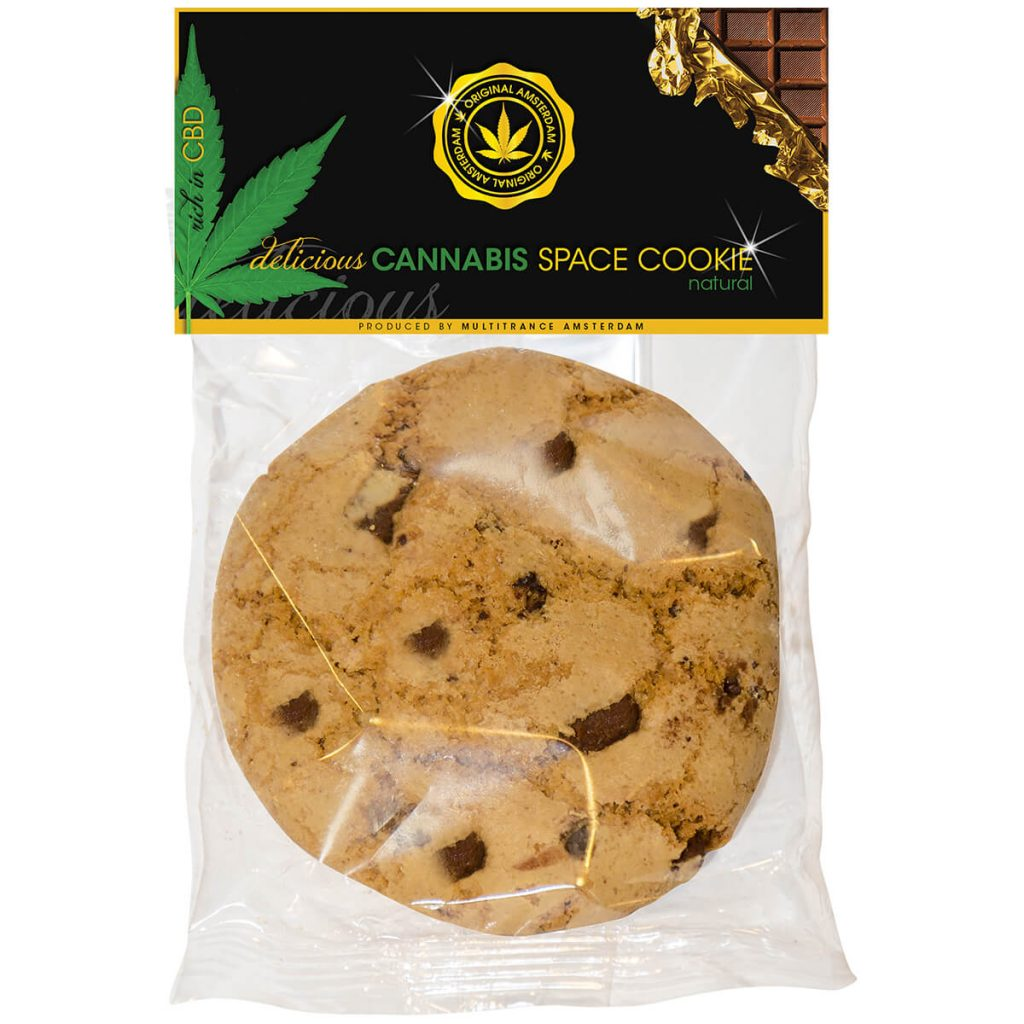 Cannabis Cookie Chocolate Chip THC free (24cookies/masterbox)