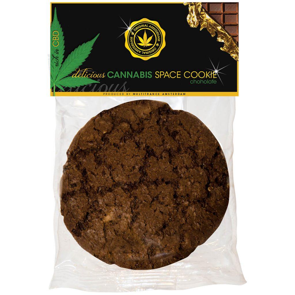 Cannabis Cookie Chocolate THC free (24cookies/masterbox)