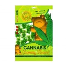 Cannabis gummie bears THC free (40pcs/display)