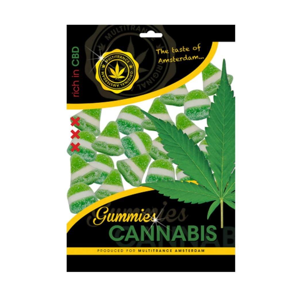 Cannabis gummies THC free (40pcs/display)