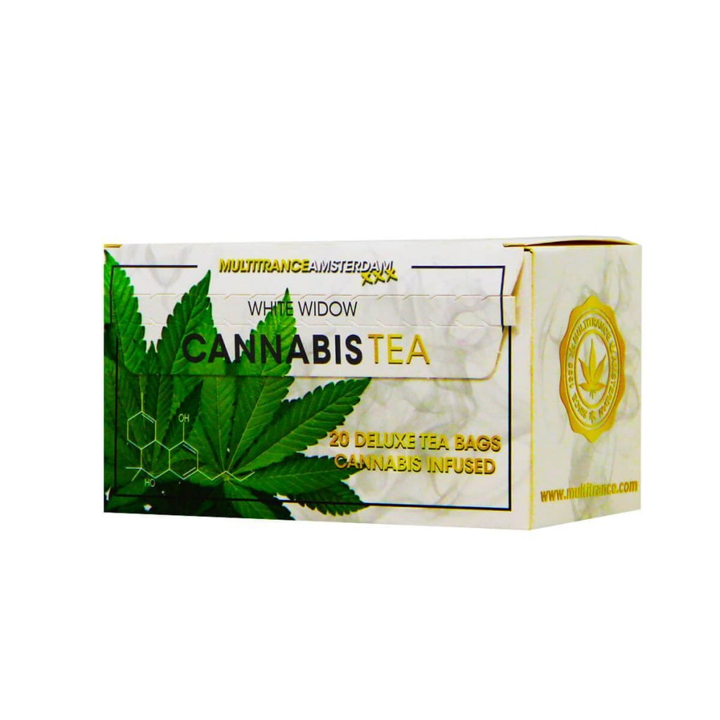 Cannabis white widow tea THC free (10pcs/display)