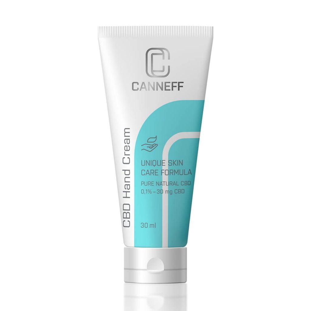 Canneff - Moisturizing Hand Cream 30mg CBD care formula (30ml)