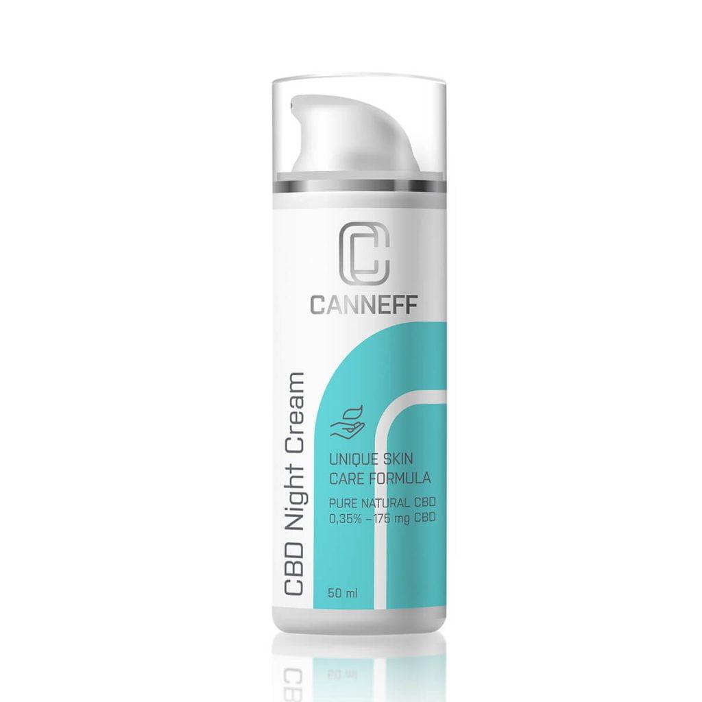 Canneff - Night Skin Cream 175mg CBD care formula (50ml)