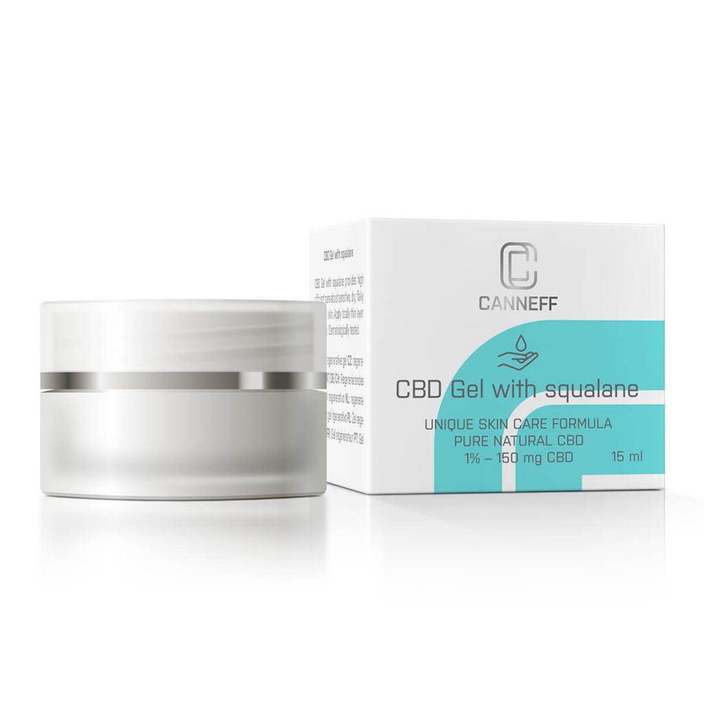 Canneff - Healing gel with squalane 150mg CBD care formula (15ml)