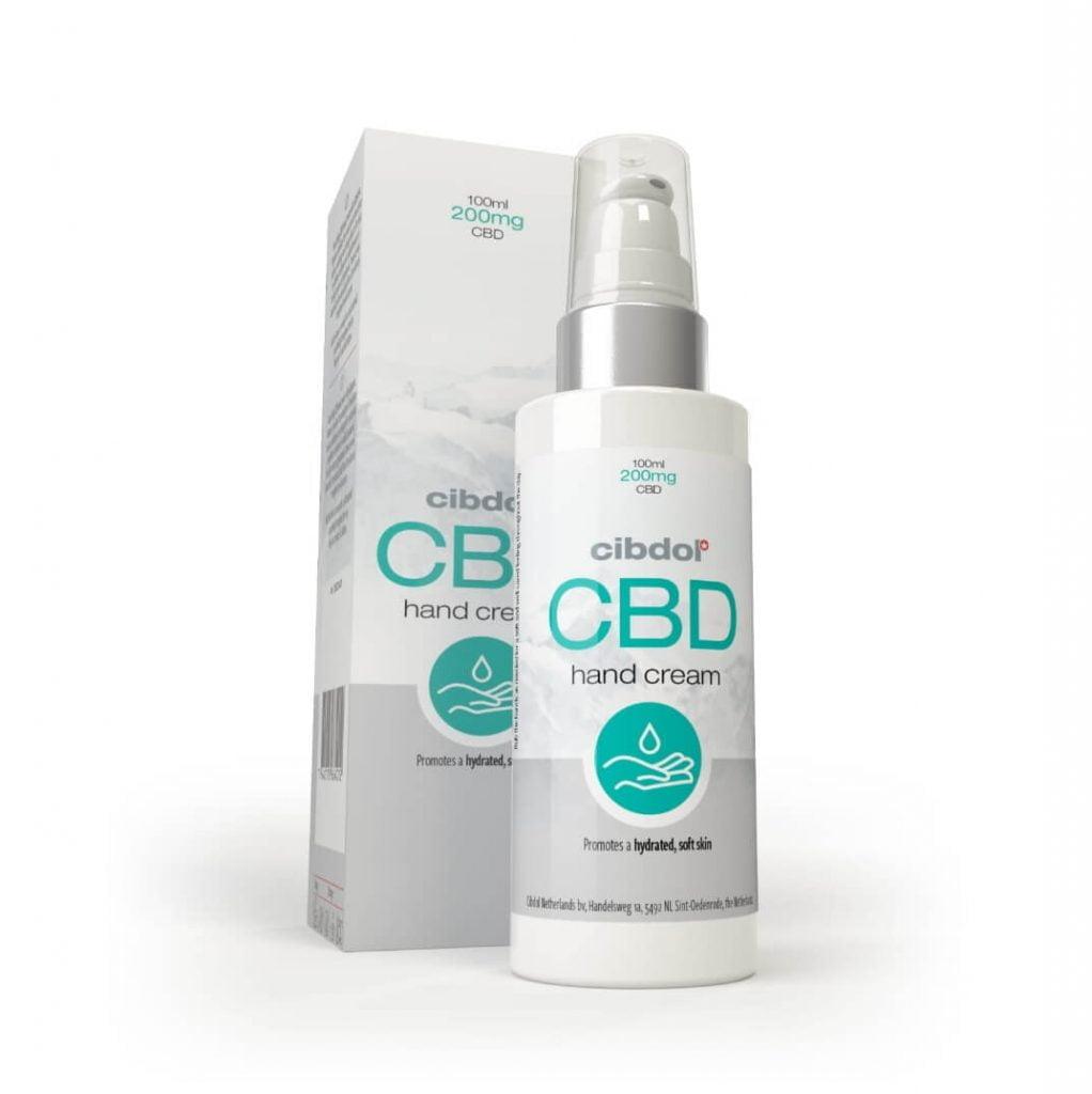Cibdol 0.5% CBD Hand cream (100ml)