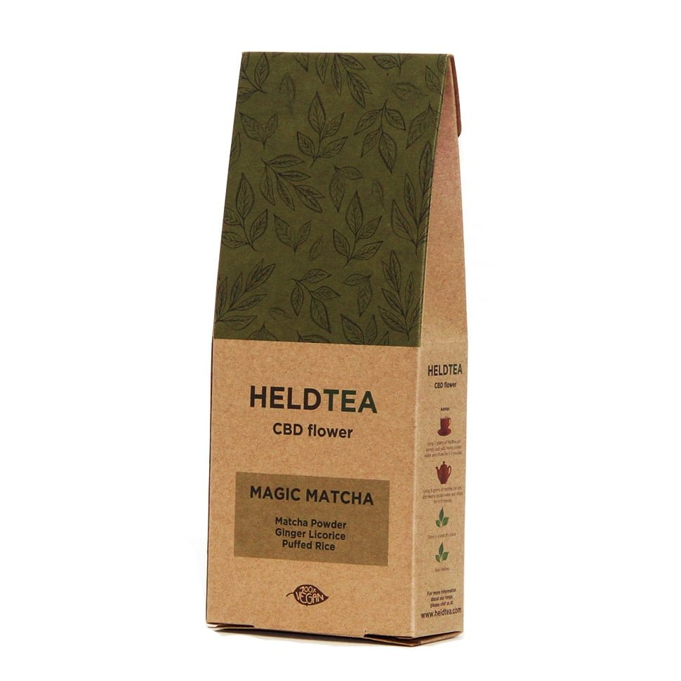 Heldtea - Magic matcha CBD tea (25g)