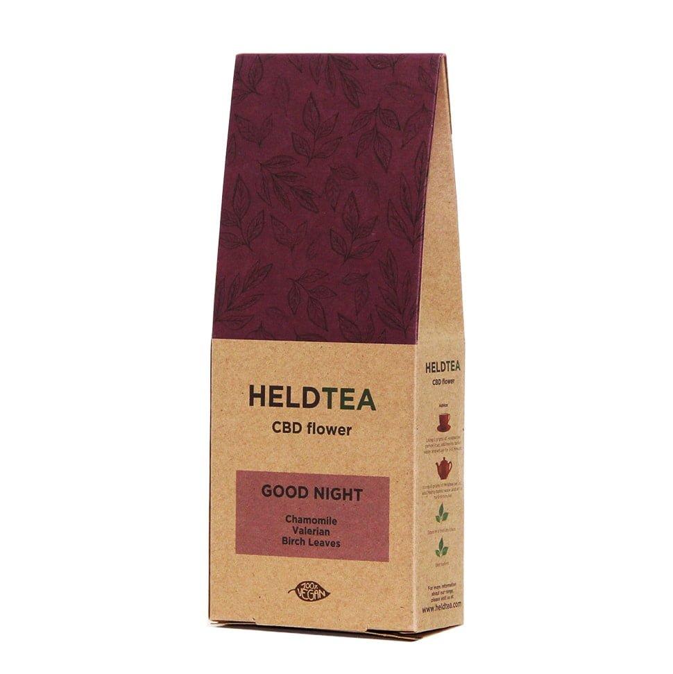 Heldtea - Good night CBD tea (25g)
