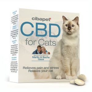 Cibapet CBD tablets for cats (1.2mg CBD)