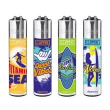Clipper™ Surf lighters (24pcs/display)