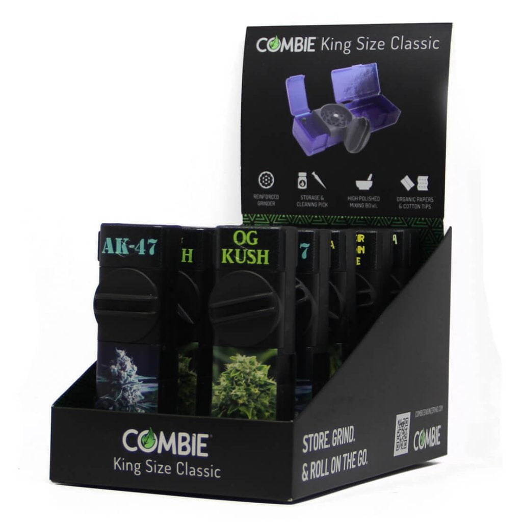 Combie™ All-In-One pocket grinder - The weed brothers (10pcs/display)