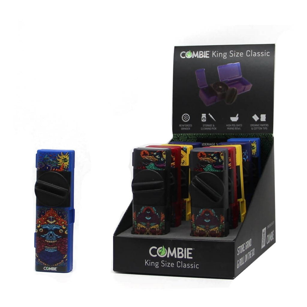 Combie™ All-In-One pocket grinder - Insane psycho (10pcs/display)