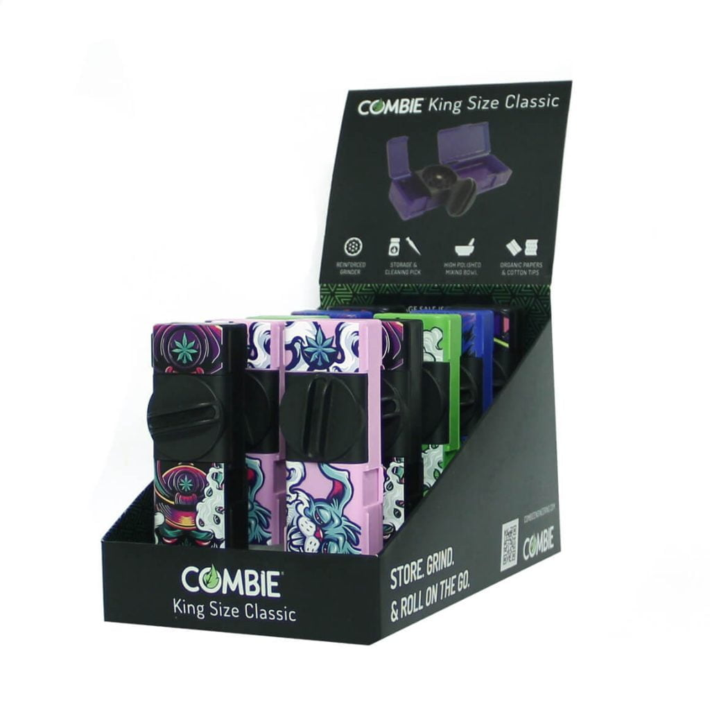 Combie™ All-In-One pocket grinder - High psycho (10pcs/display)