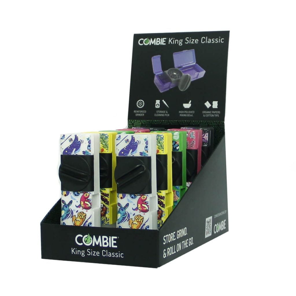 Combie™ All-In-One pocket grinder - Floating Myths (10pcs/display)